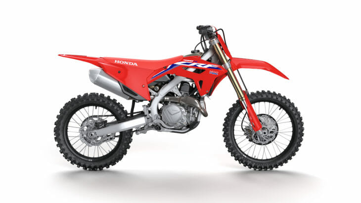 2022 Honda CRF450R & CRF450RWE First Look