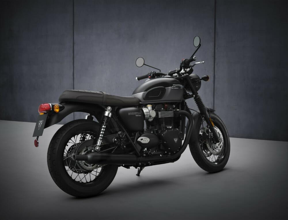 2022 Triumph Bonneville T120 Black