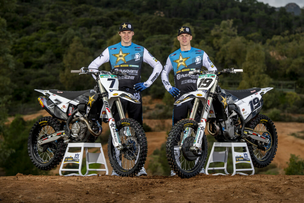 Arminas Jasikonis and Thomas Kjer Olsen - Rockstar Energy Husqvarna Factory Racing-1