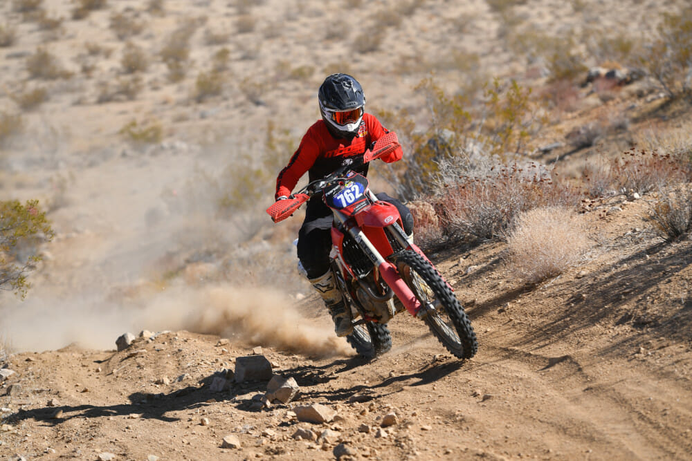 Axel Pearson at Ridgecrest ISDE West Qualifier