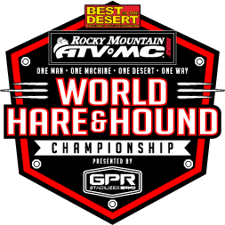 Best In The Desert 2021 World Hare and Hound Championship Logo