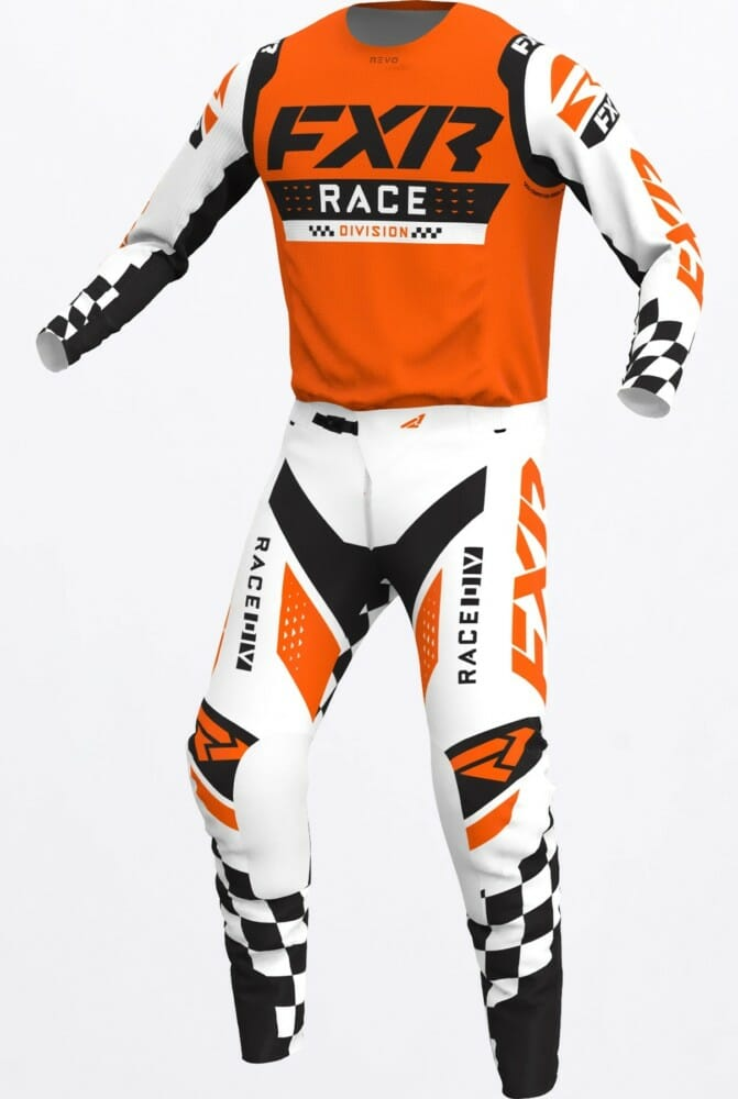 FXR Racing Revo Flow Gear in Competition Orange