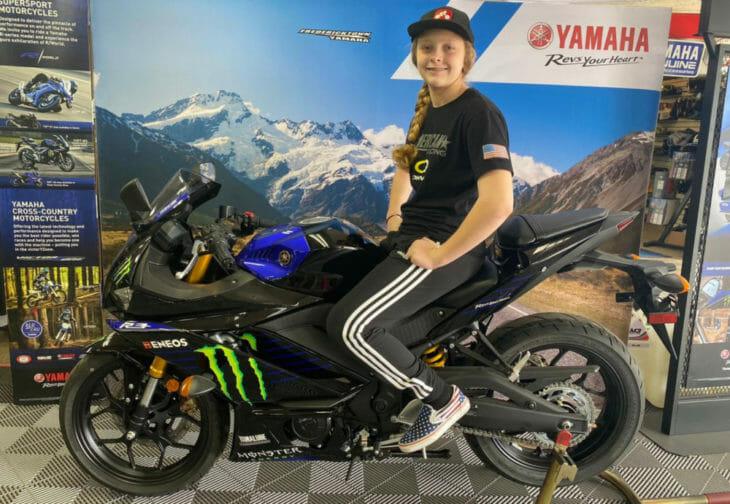 Kayla Yaakov Yamaha R3