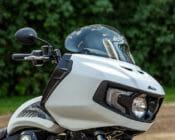 Klock Werks Flare Windshield Indian Challenger