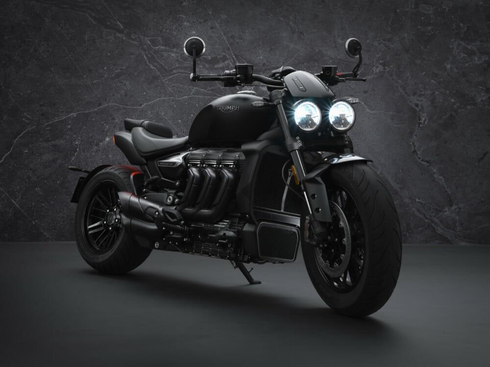 Triumph LE Rocket 3 R Black
