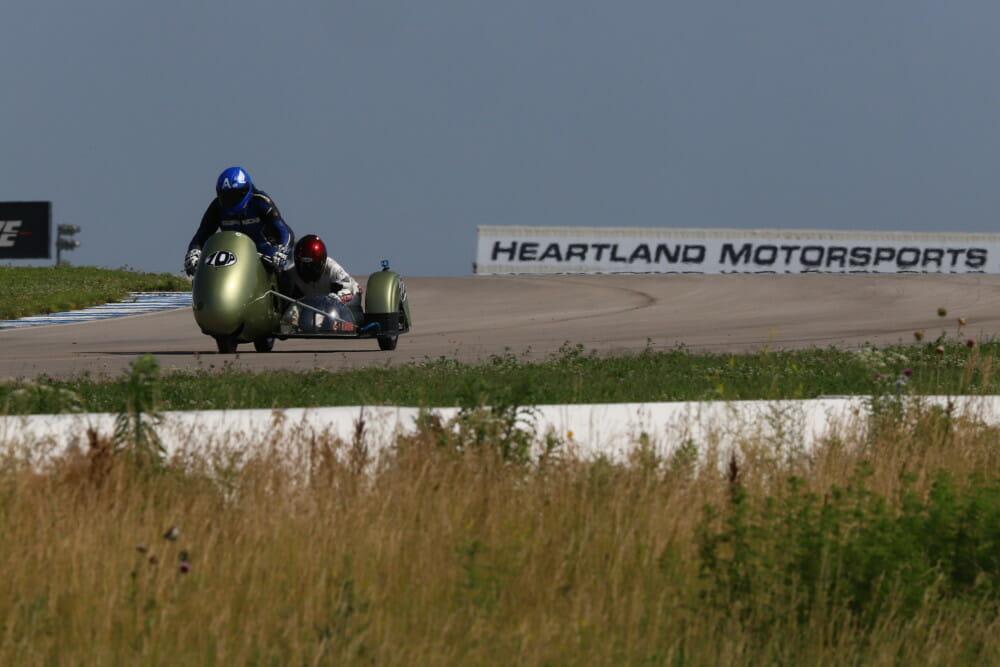 Michael Platt pilot and Karna Kerr passenger. Photo by Etech Photo