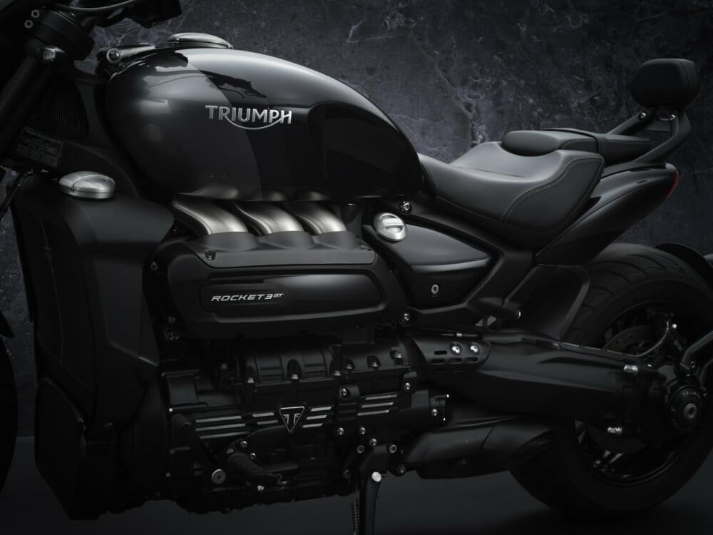 2021 Triumph LE Rocket 3 GT Triple Black