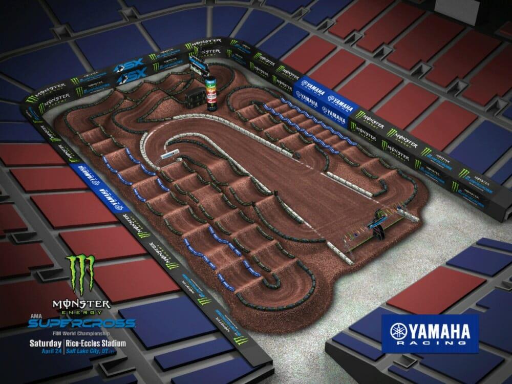 Round 16 - Salt Lake City Track Map
