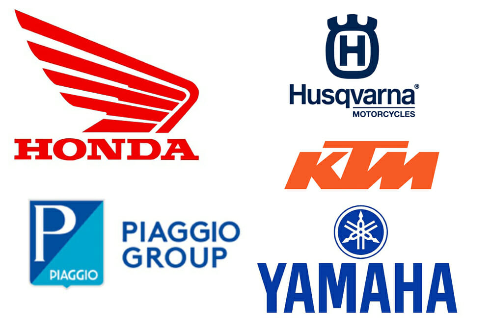 Honda, KTM, Piaggio and Yamaha Create Swappable Batteries Consortium