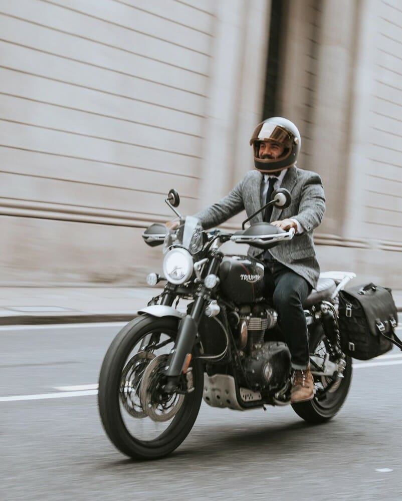 Triumph Supports The Distinguished Gentleman's Ride