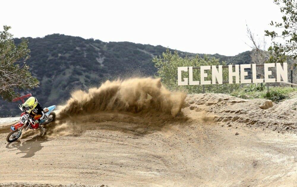 Glen Helen Peewee track re-design