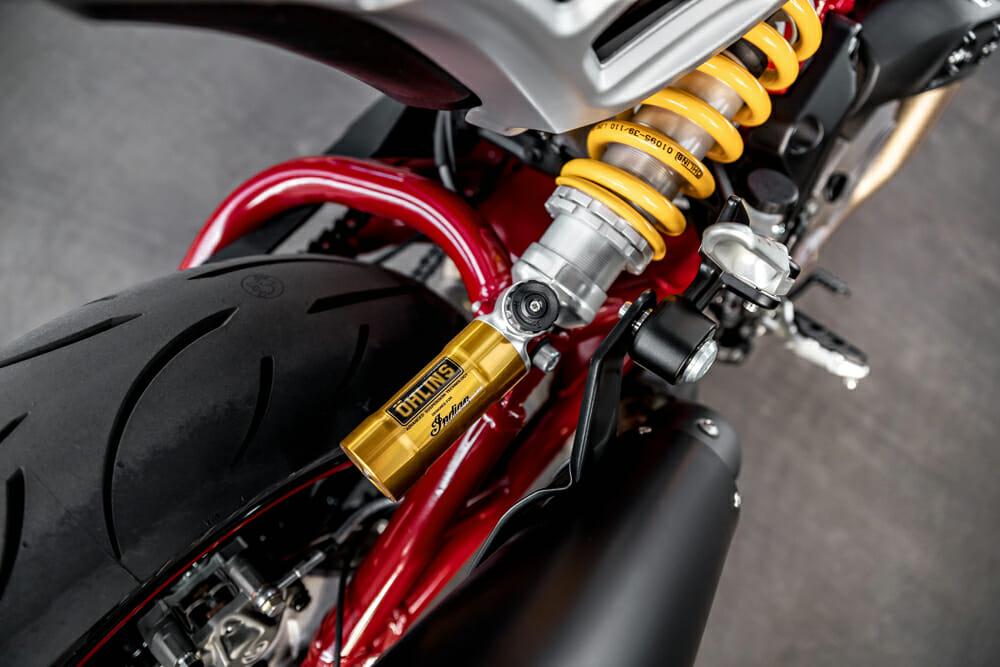 2021 Indian FTR Ohlins suspension