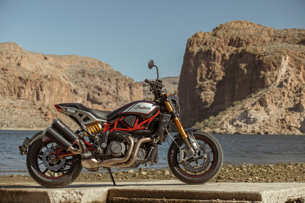 2021 Indian FTR R Carbon Specifications