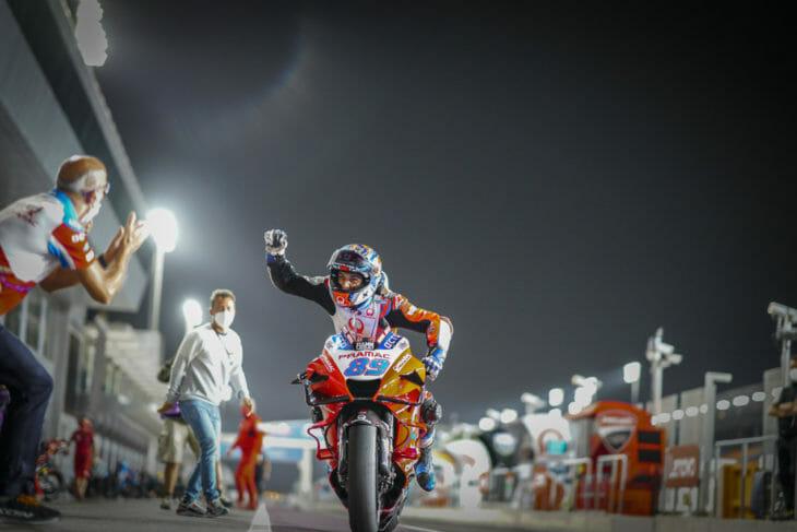 2021 Doha MotoGP Results and News Martin pole