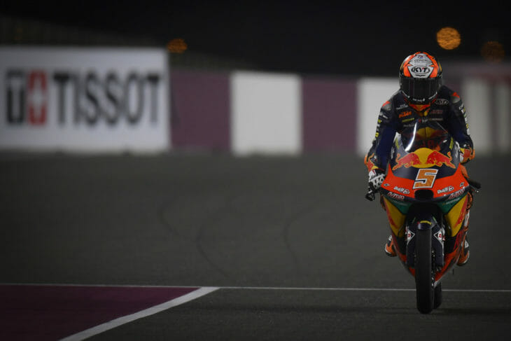 2021 Doha MotoGP Test Results Masia Combined