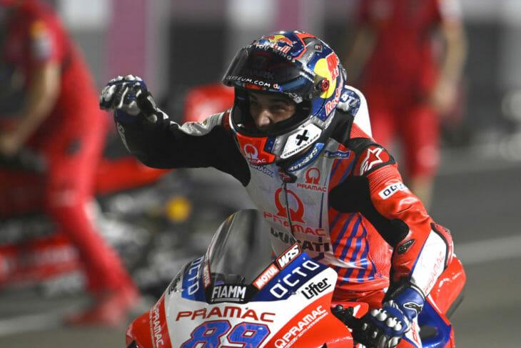 2021 Doha MotoGP Results and News Martin on pole