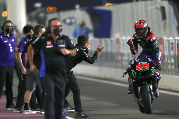 2021 Doha MotoGP Results and News Quartararo wins