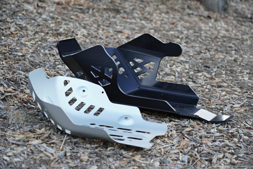 AXP Racing Yamaha Tenere 700 Skid Plate vs stock