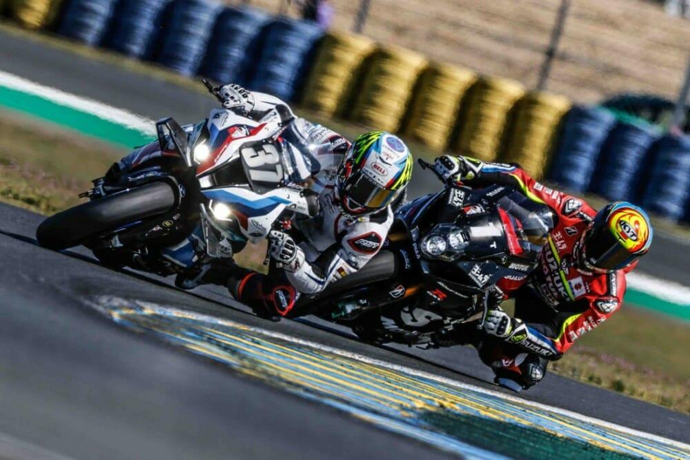 BMW Motorrad World Endurance Team dominate Le Mans test