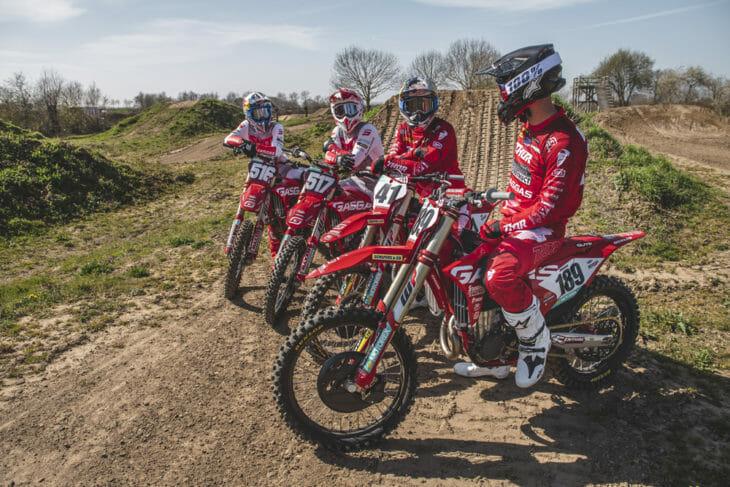 GasGas Factory Racing 2021 FIM MXGP Team