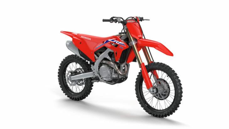 Honda Announces Recall of 2021 CRF450R