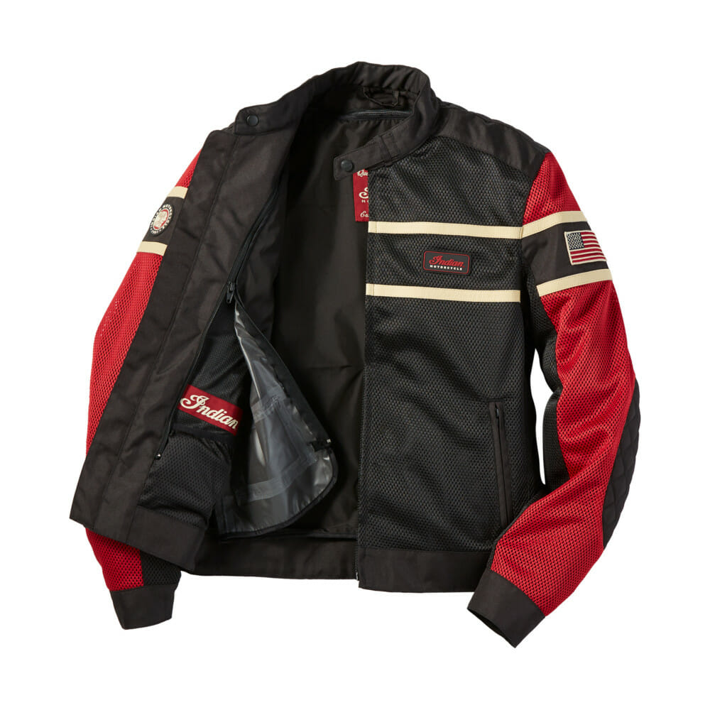 Indian Motorcycle Men's Arlington Mesh Jacket