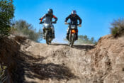 KTM 890 Adventure R and Triumph Tiger 900 Rally Pro