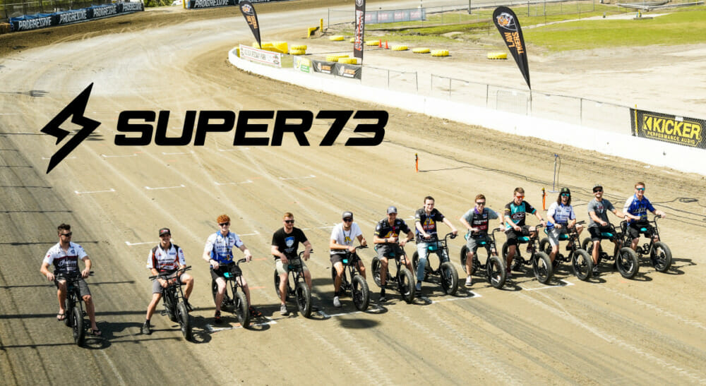 Super73 become the Official Electric Bicycle for the 2021 season.