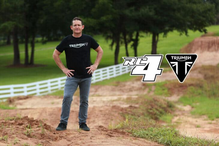 Triumph Motorcycles to Enter Motocross and Enduro Segments Carmichael joins Triumph