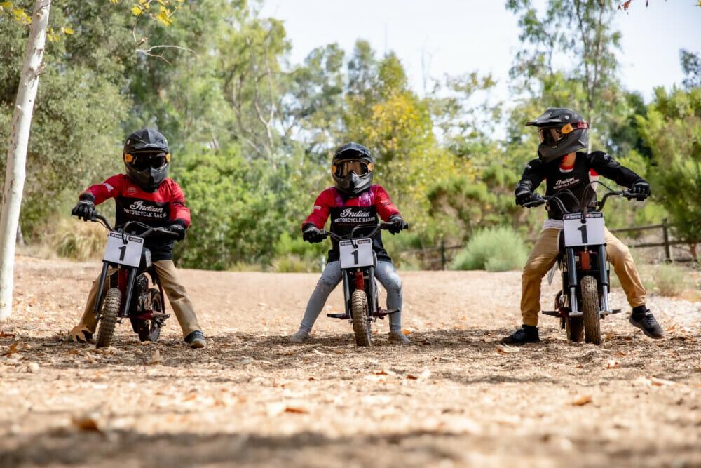 Indian Motorcycle eFTR Mini Electric Youth Bike