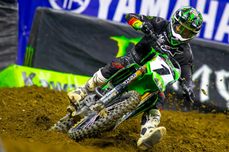 2021 Indianapolis Supercross Rnd 4 Results